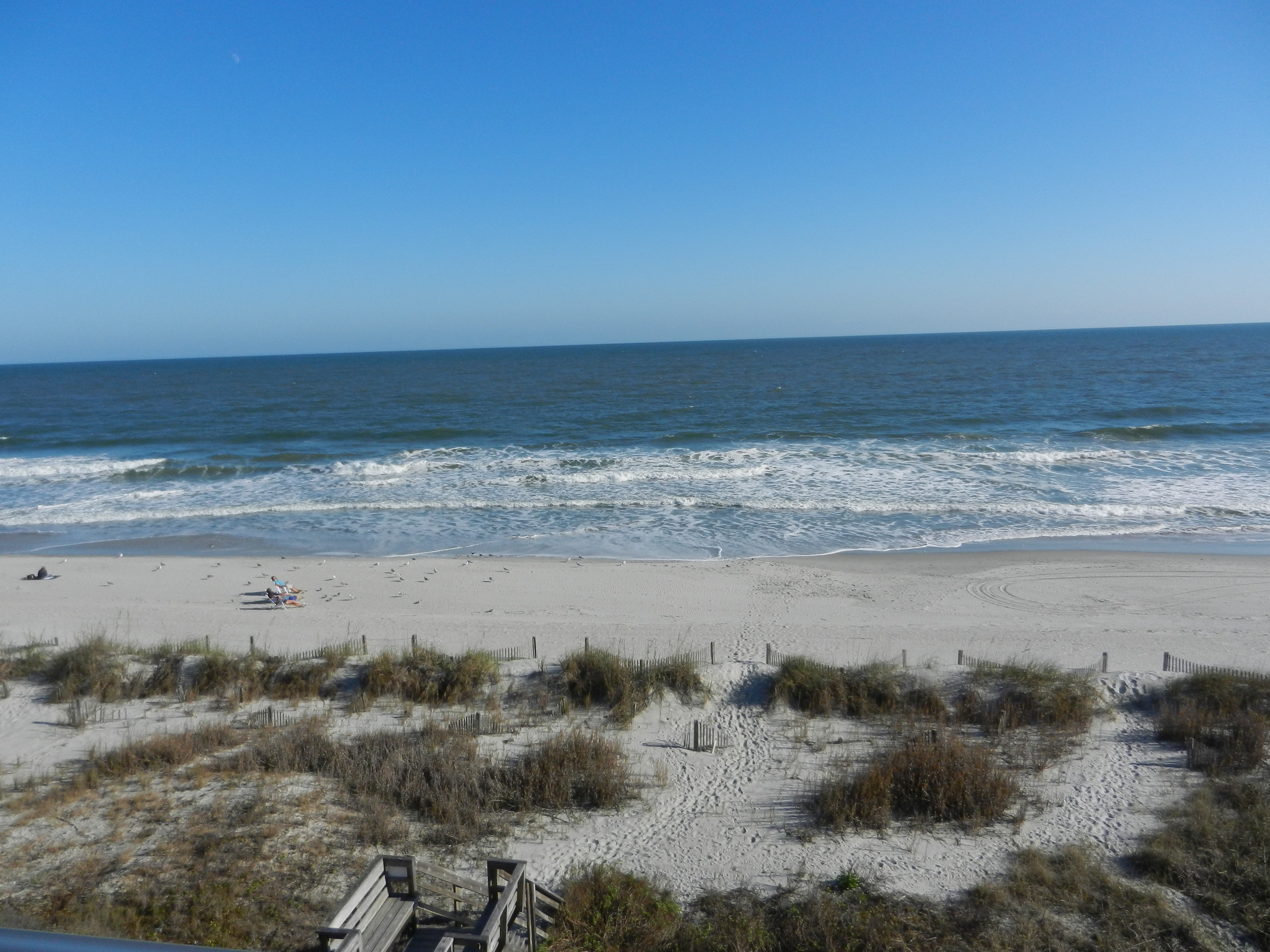 View of Surfside Beach and the Atlantic Ocean from Princeton House 1 - Unit 6